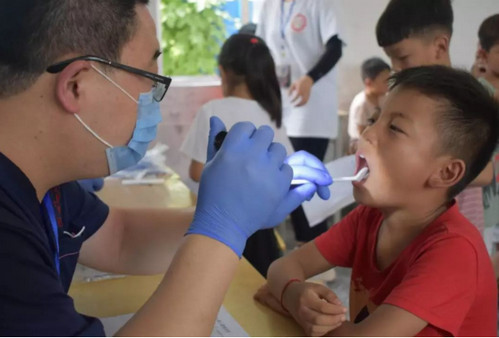 口腔义诊及口腔健康宣传教育活动